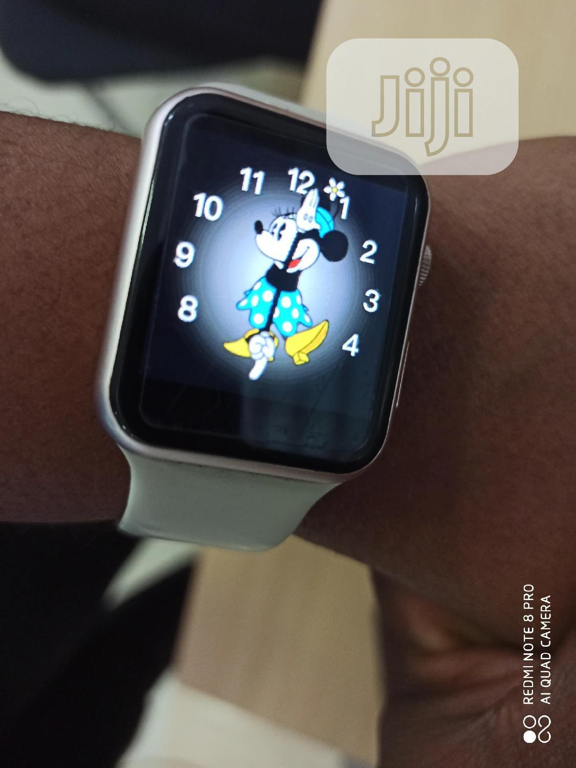Apple Watch Series 5 Clone With Free Airpods | Smart Watches & Trackers for sale in Ikeja, Lagos State, Nigeria