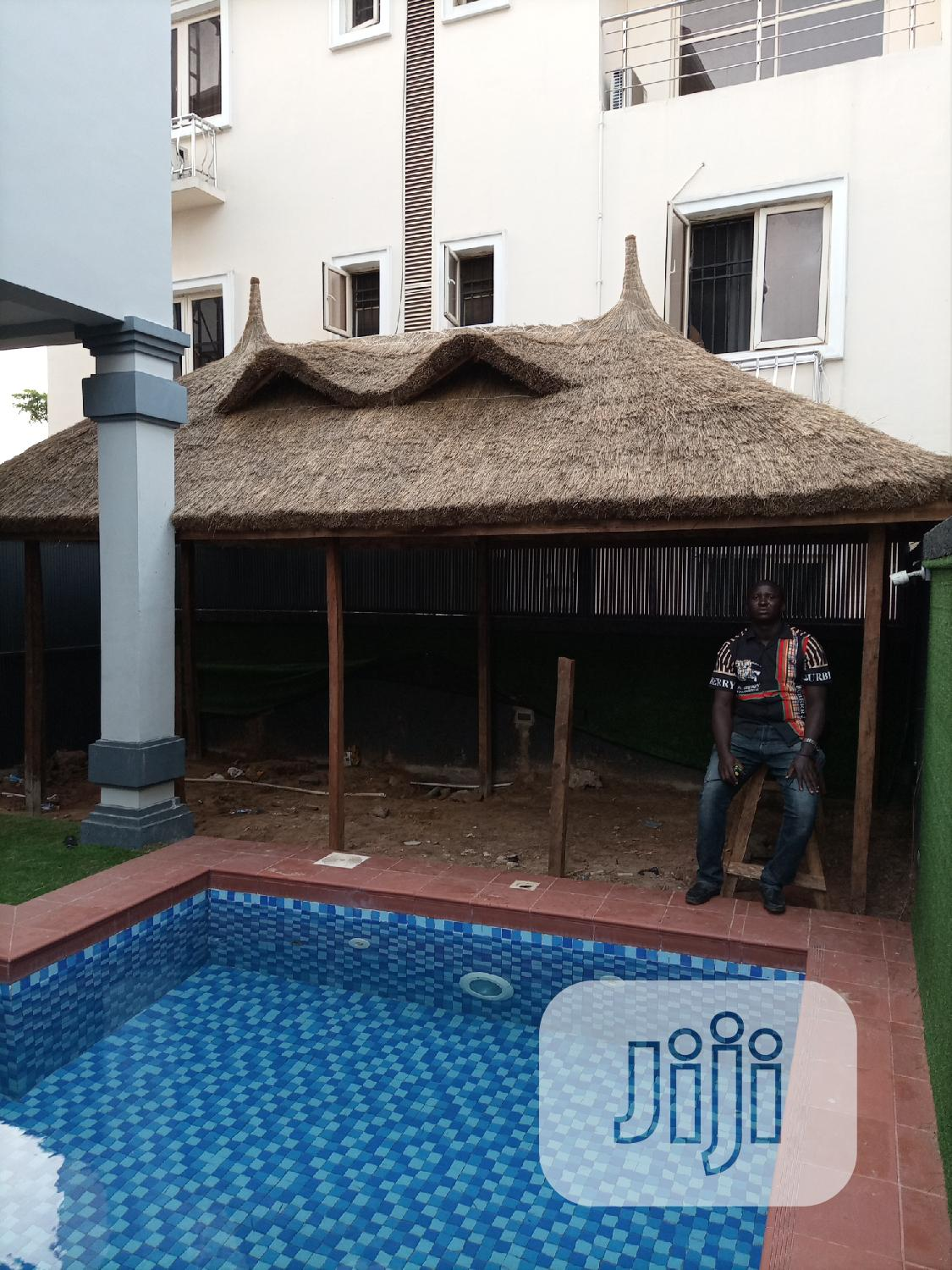 Everlast Bush Bar Gazebo Hut | Garden for sale in Ibeju, Lagos State, Nigeria