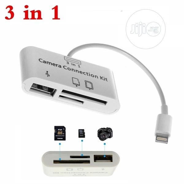 USB Camera Connection Kit Memory Micro SD Card Reader