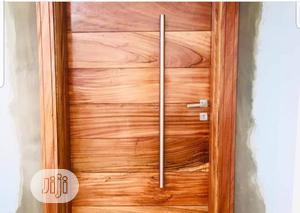 Wooden Security/Entrance Doors | Doors for sale in Lagos State, Ikeja