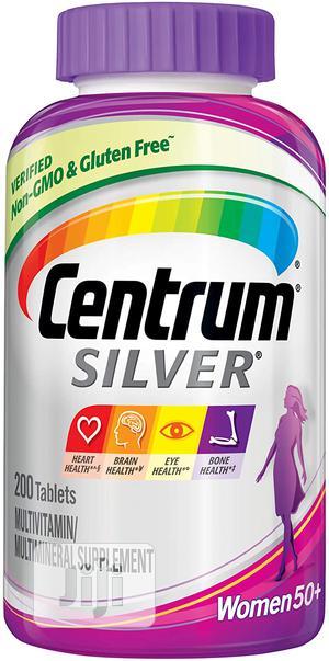 Centrum Silver Multivitamin for Women 50 Plus, 200 Tablets   Vitamins & Supplements for sale in Lagos State, Lekki