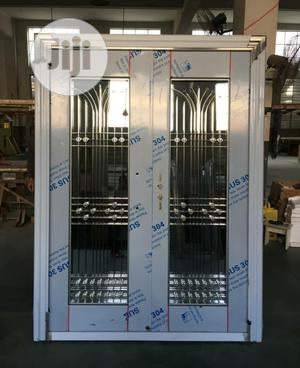 Double Stainless Glass Doors Available   Doors for sale in Lagos State, Orile