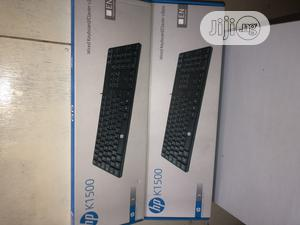 Hp Wired USB Keyboard K1500 | Computer Accessories  for sale in Lagos State, Ikeja