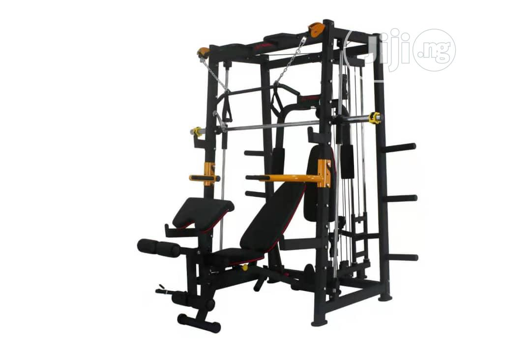 Brand New Smith Machine With Sit Up Bench