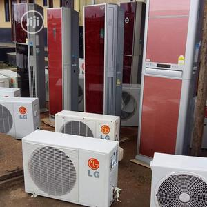 Original 2hp Standing LG Glass/Coloured Air Conditioner | Home Appliances for sale in Lagos State, Ikeja