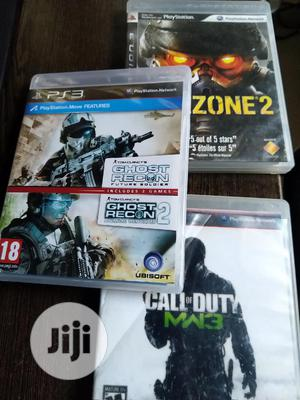 PS3 Game Console With 2 Controllers and 3 Different Games | Video Games for sale in Lagos State, Lekki