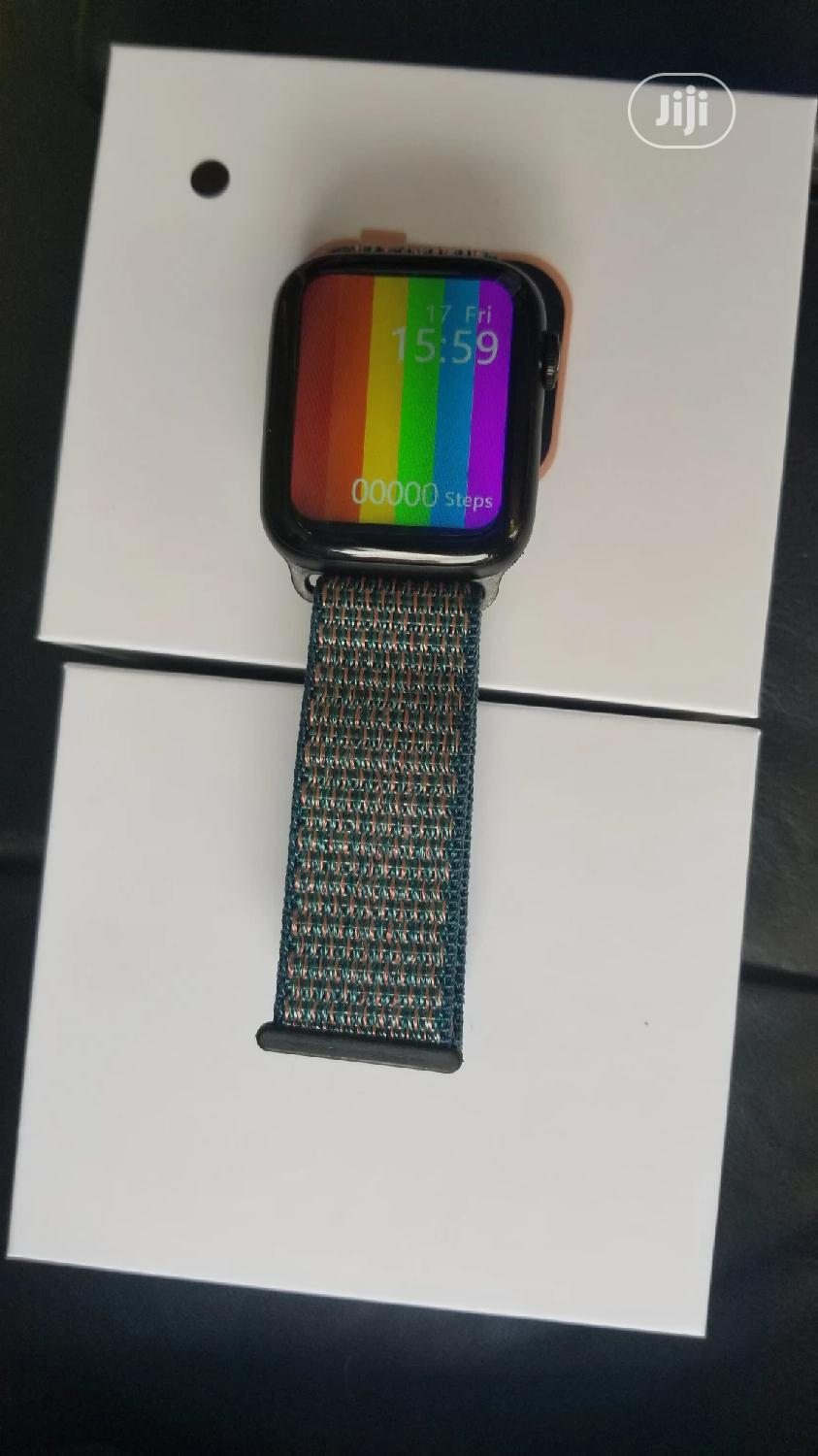 Full Screen Series 6 Smartwatch   Smart Watches & Trackers for sale in Ikeja, Lagos State, Nigeria