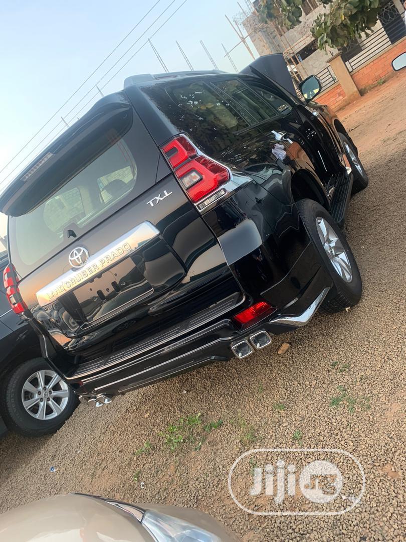 New Toyota Land Cruiser Prado 2019 Black | Cars for sale in Garki 1, Abuja (FCT) State, Nigeria