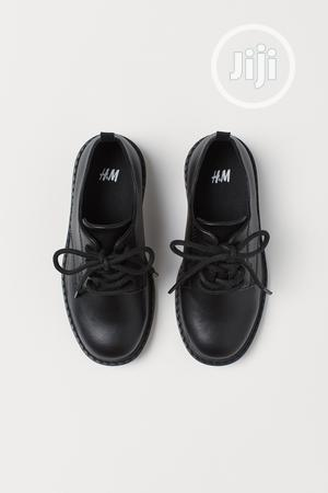Hm Boys Black Leather Shoe | Children's Shoes for sale in Lagos State, Surulere
