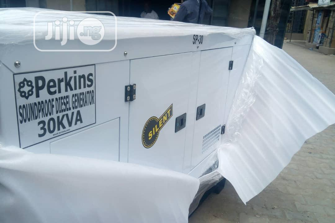 30 Kva Original UK Perkins