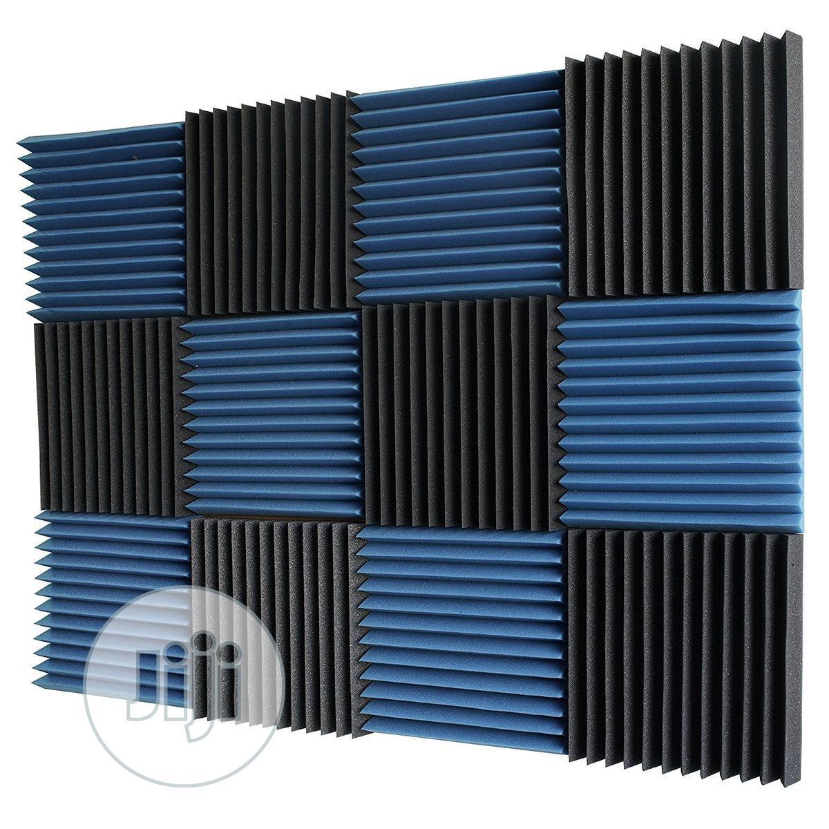 Archive: 12pcs Of 30cm X 30cm X 3cm Acoustic Foams (Black, Blue, Red)