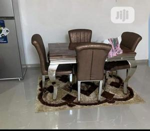 Good Quality Marble Dinning Table With 4 Chairs | Furniture for sale in Abuja (FCT) State, Gwarinpa