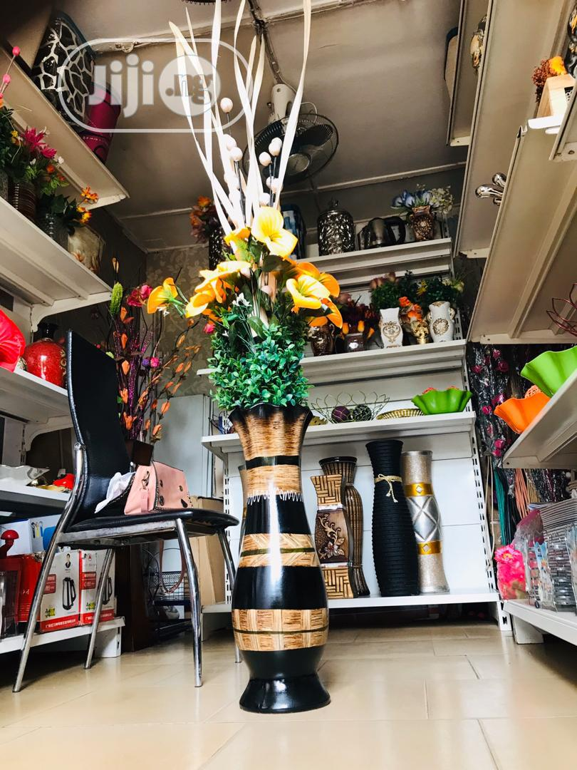 Beautiful Flower Vase and Radiant Sun Flower | Home Accessories for sale in Ikeja, Lagos State, Nigeria