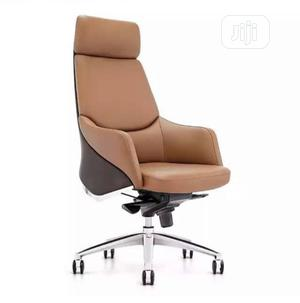 Ergonomic Office Chair - Brown   Furniture for sale in Lagos State, Victoria Island