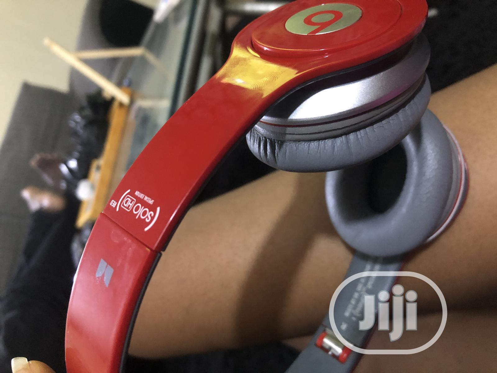 Archive: Beat By Dre Solo HD Drenched (Red)