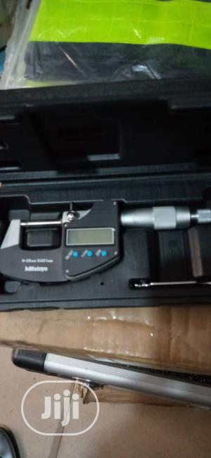 Original Mitutoyo Digital Micrometer ,0.25mm 0.001mm | Measuring & Layout Tools for sale in Lagos State, Yaba