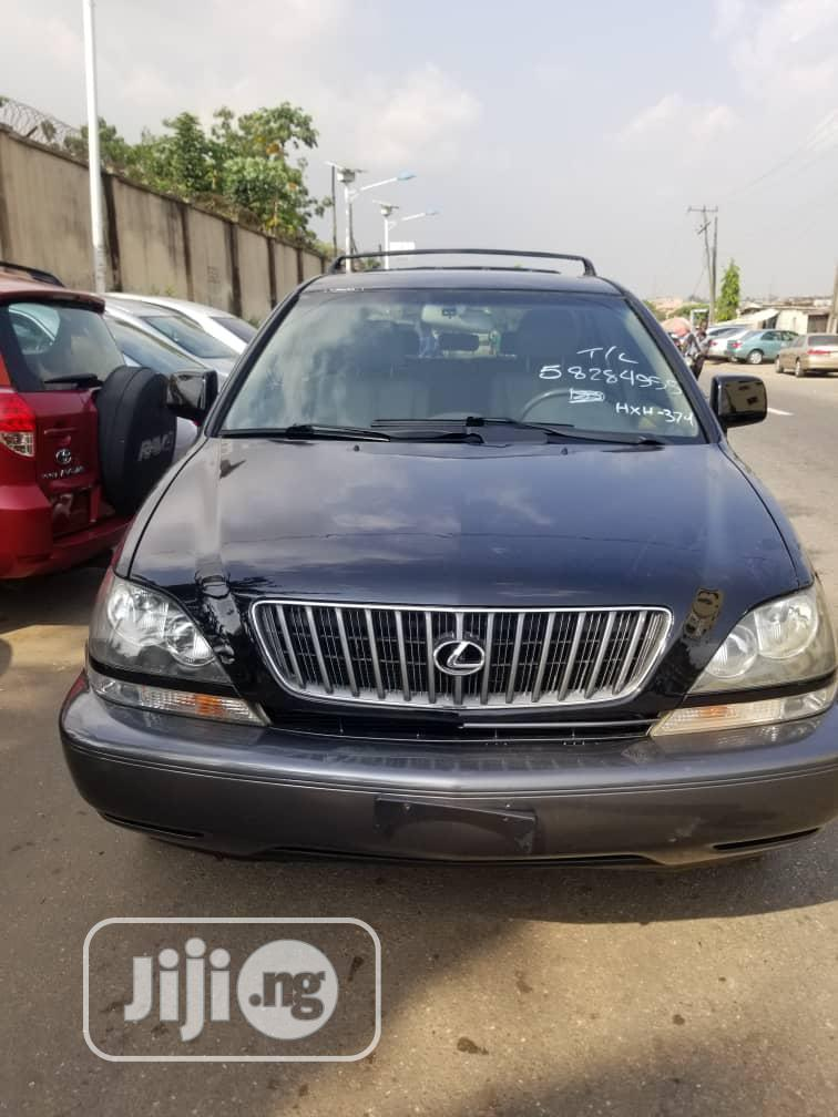 Lexus RX 2001 300 Black | Cars for sale in Ikeja, Lagos State, Nigeria
