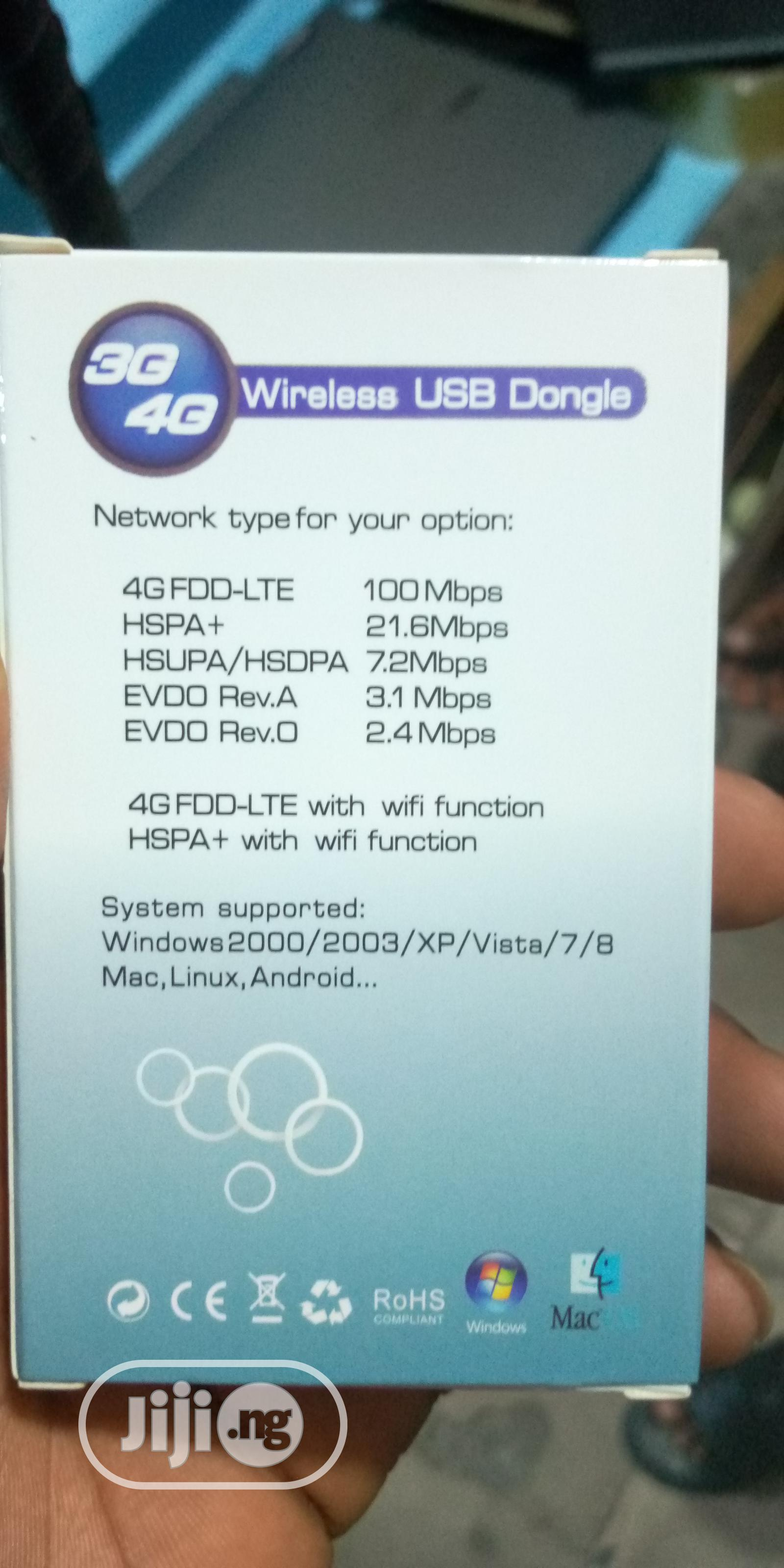 Universal Modem 7.2mbps 3G-4G Mobile Broadband USB Dongle | Networking Products for sale in Ikeja, Lagos State, Nigeria