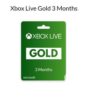 Xbox Live Gold 3 Months (Global) | Video Games for sale in Lagos State, Ojodu