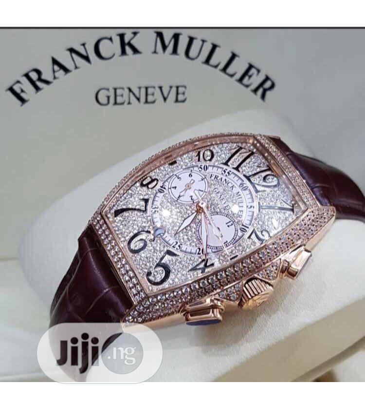100% Original Franck Muller Stone Brand New