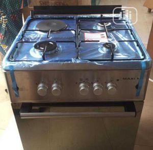 New Maxi Stand Gas(3+1) Oven Automatic 60 by 60 Fast Cooking | Kitchen Appliances for sale in Lagos State, Ojo