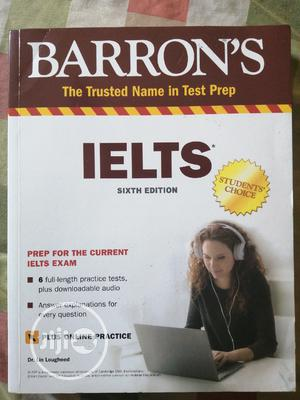 Barron's IELTS (6th Edition, Port-Harcourt )   Books & Games for sale in Rivers State, Port-Harcourt
