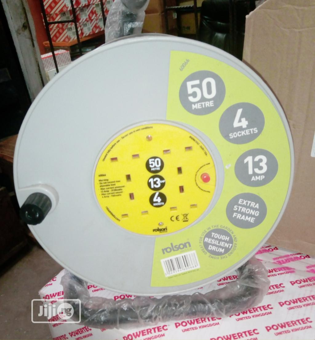 Cable Socket Extension 50 Metres   Accessories & Supplies for Electronics for sale in Ojo, Lagos State, Nigeria