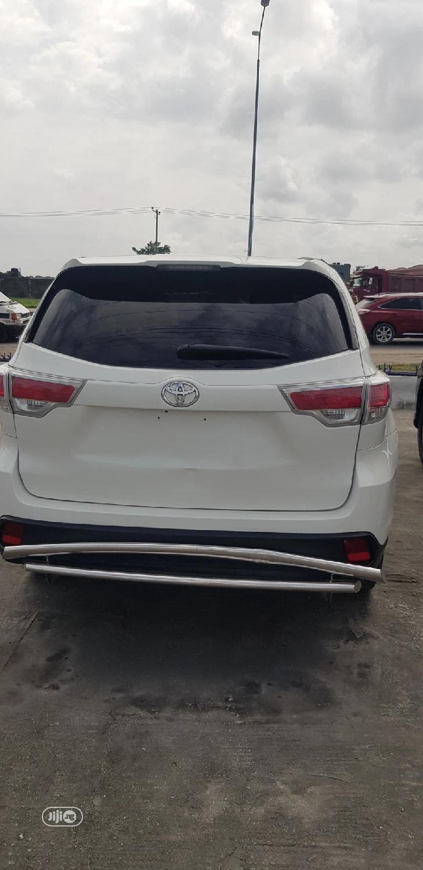 Toyota Highlander 2014 White | Cars for sale in Lekki, Lagos State, Nigeria