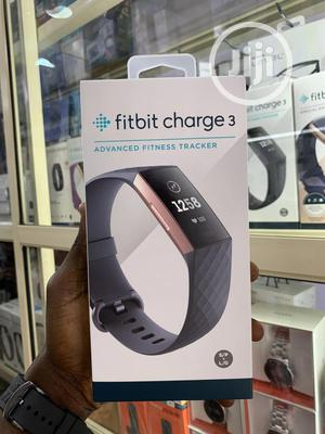 Fitbit Charge 3 Fitness Activity Tracker | Smart Watches & Trackers for sale in Lagos State, Ikeja