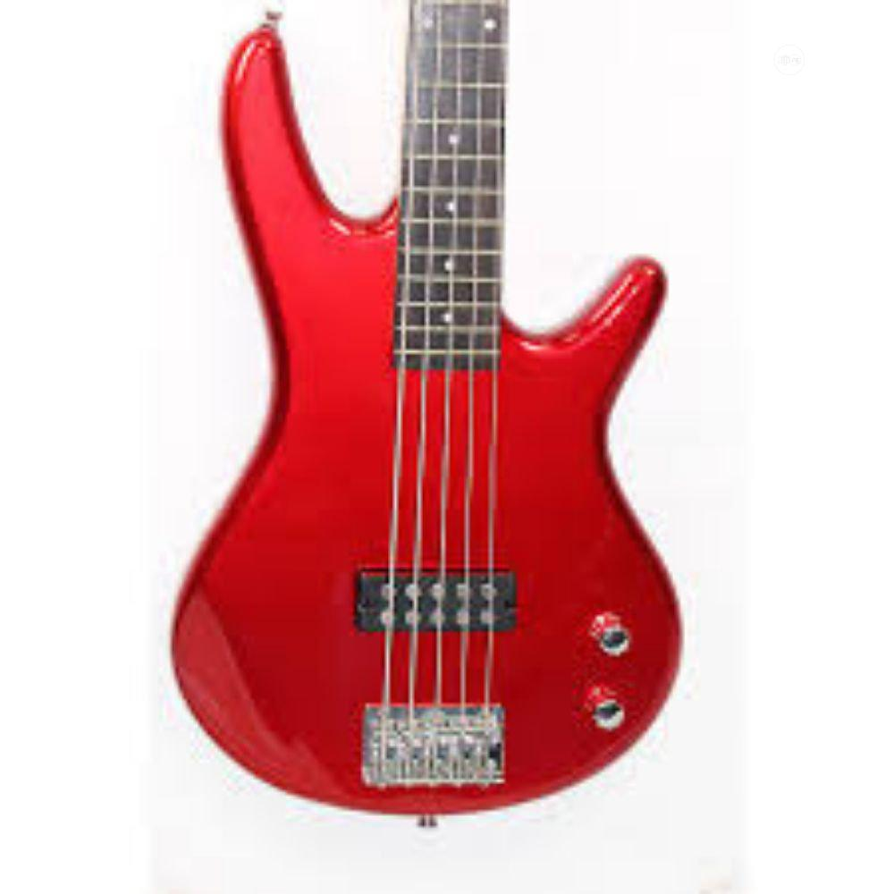 Archive: Ibanez Gio GSR105EX 5-String Bass Guitar Red