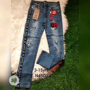Brand New Kiddies Jeans Trouser | Children's Clothing for sale in Lagos State, Ikeja