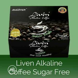 Liven Alkaline Coffee Sugar Free | Meals & Drinks for sale in Oyo State, Ibadan