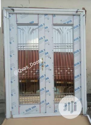 Silver Glass Doors   Doors for sale in Rivers State, Ikwerre
