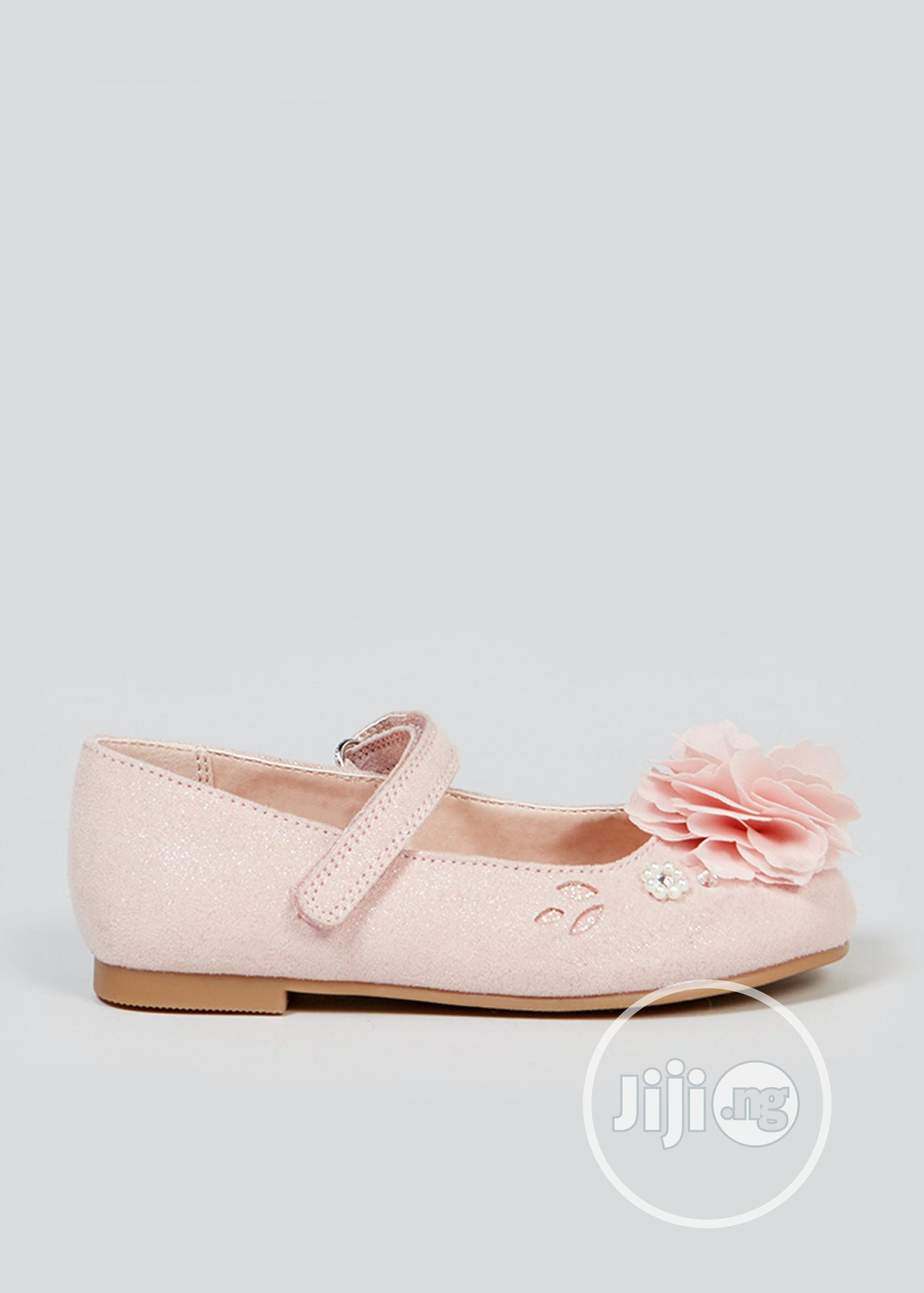Matalan Girls Pink Ballet Shoes   Children's Shoes for sale in Surulere, Lagos State, Nigeria