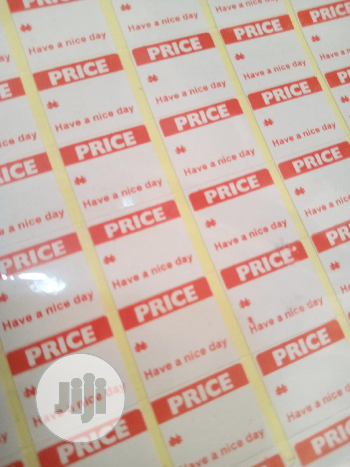 Archive: Price Tag