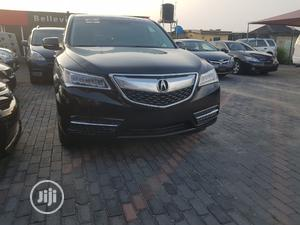 Acura MDX 2015 4dr SUV (3.5L 6cyl 6A) Black | Cars for sale in Lagos State, Ajah