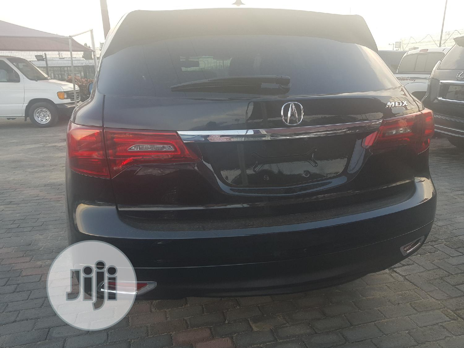 Acura MDX 2015 4dr SUV (3.5L 6cyl 6A) Black | Cars for sale in Ajah, Lagos State, Nigeria