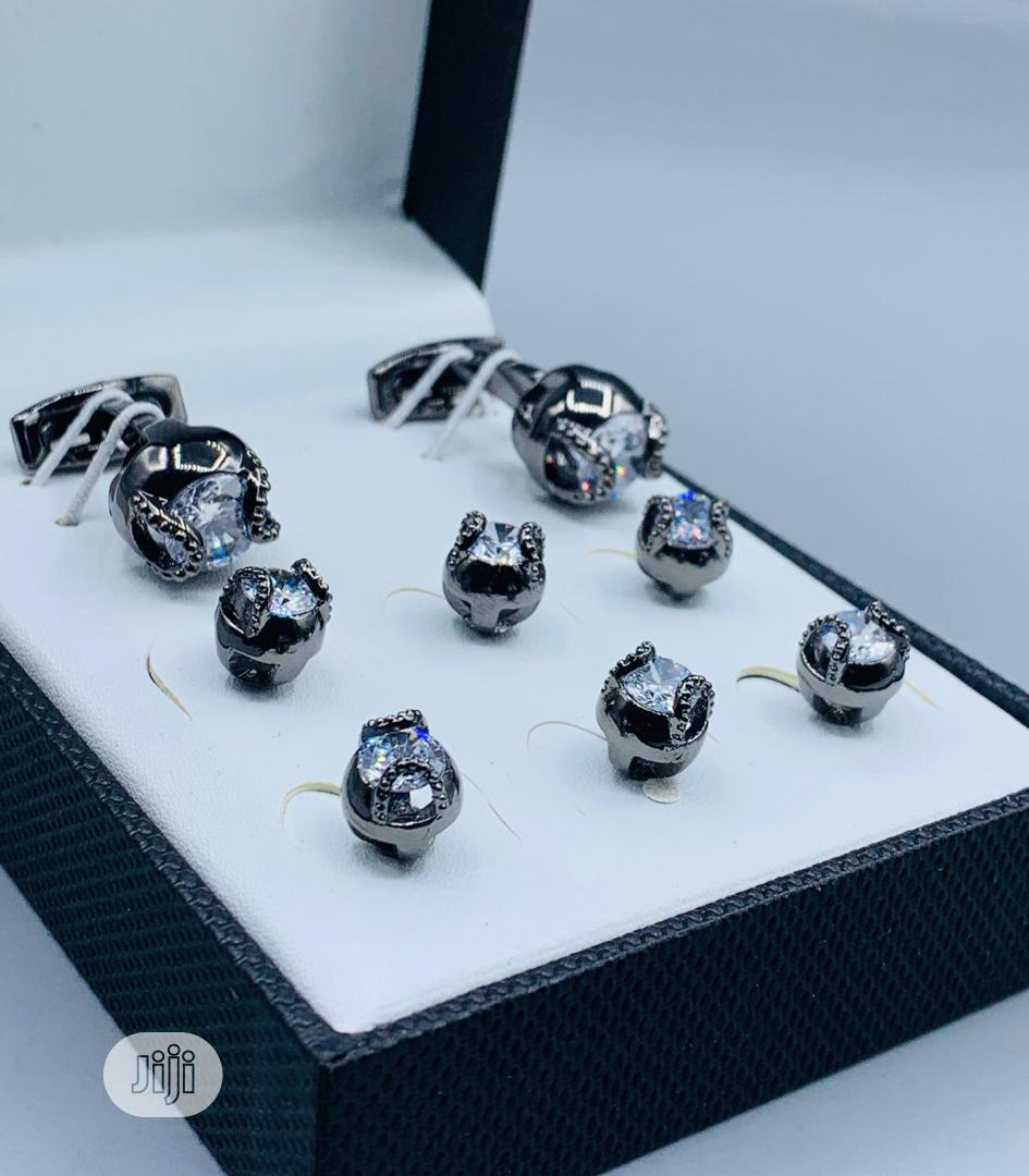Archive: Cufflinks With Button