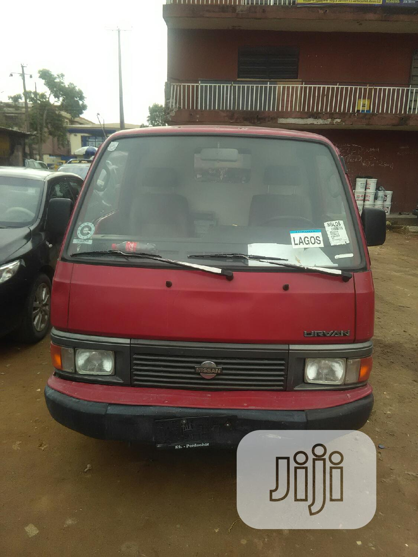 Nissan Urvan Bus 1989