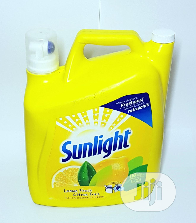 Sunlight Lemon Fresh Detergent 5.08L   Home Accessories for sale in Apapa, Lagos State, Nigeria