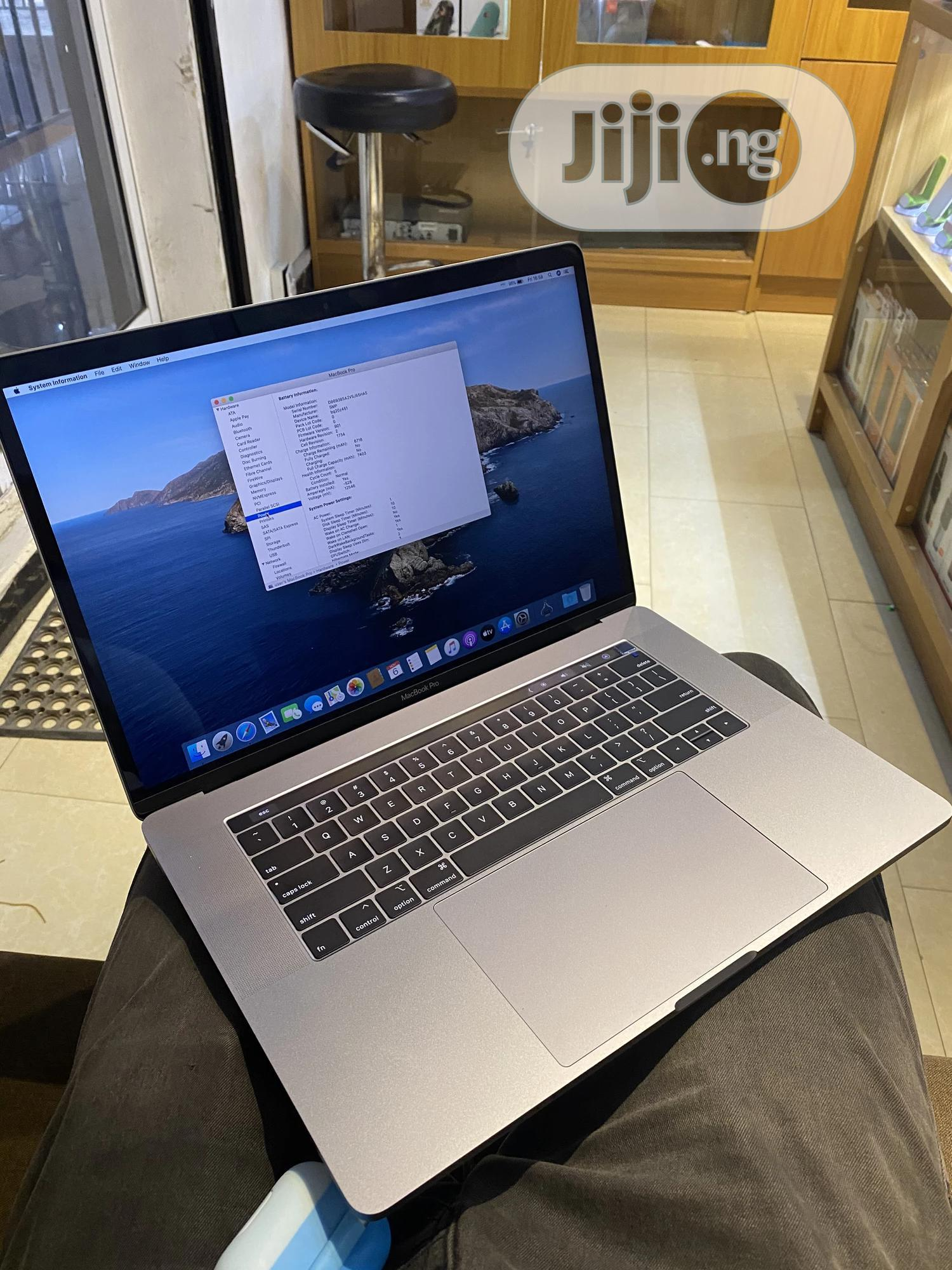 New Laptop Apple MacBook Pro 32GB Intel Core i9 SSD 512GB | Laptops & Computers for sale in Lekki, Lagos State, Nigeria