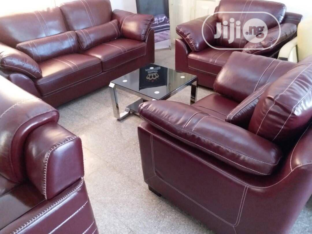 High Grade Leather Sofa Chairs