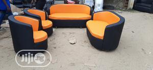 Classic Leather Sofa 3+2+1+1=7setters   Furniture for sale in Lagos State, Lagos Island (Eko)