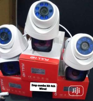 4 Channel Combo Kit Wired 2mp | Security & Surveillance for sale in Lagos State, Ikeja