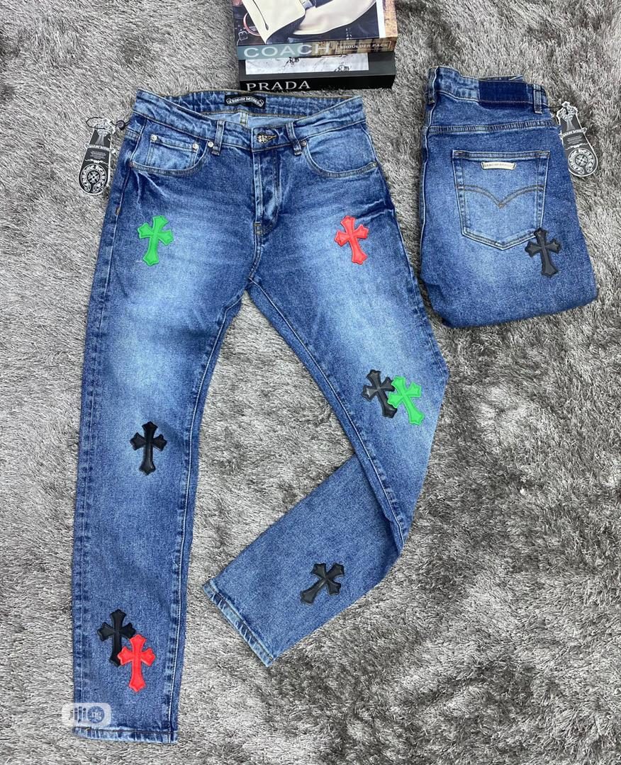 Top Quality Chrome Heart Jeans