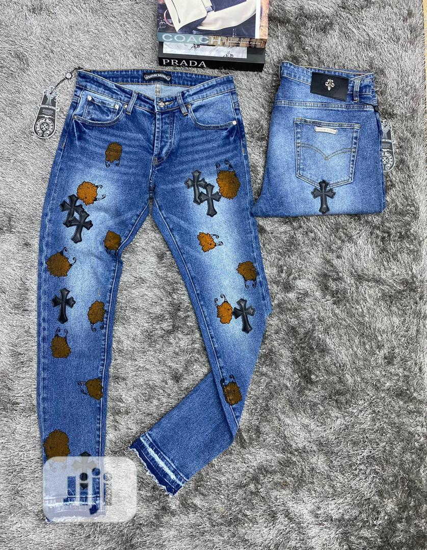 Top Quality Chrome Heart Jeans   Clothing for sale in Magodo, Lagos State, Nigeria