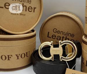 Ferragamo Leather Belt for Men's   Clothing Accessories for sale in Lagos State, Lagos Island (Eko)