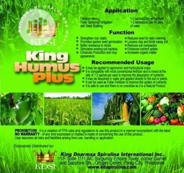 King Humus Plus Organic Fertilizer | Feeds, Supplements & Seeds for sale in Ikotun/Igando, Lagos State, Nigeria