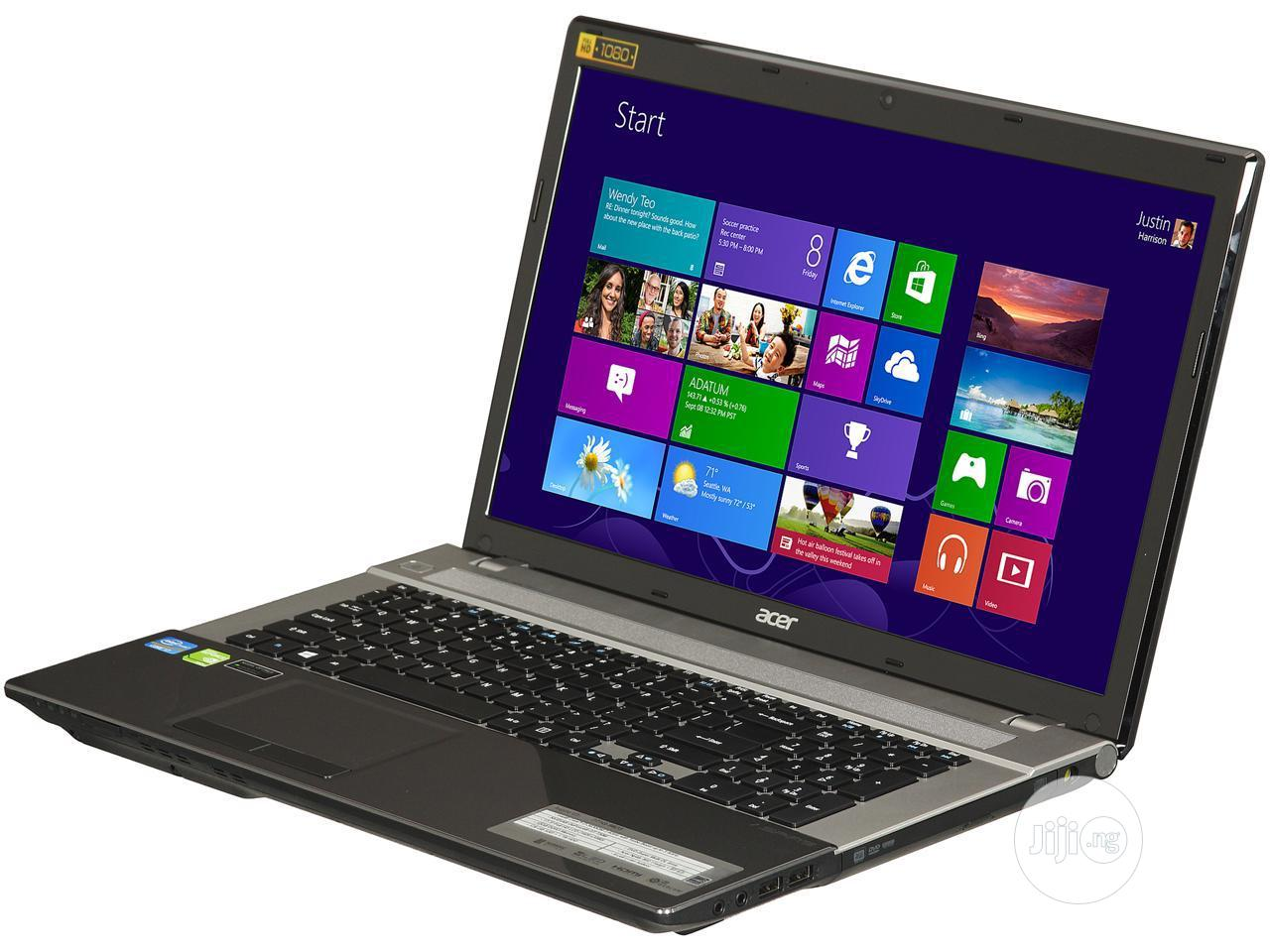 Laptop Acer Aspire V3-771 8GB Intel Core I7 1T   Laptops & Computers for sale in Apapa, Lagos State, Nigeria