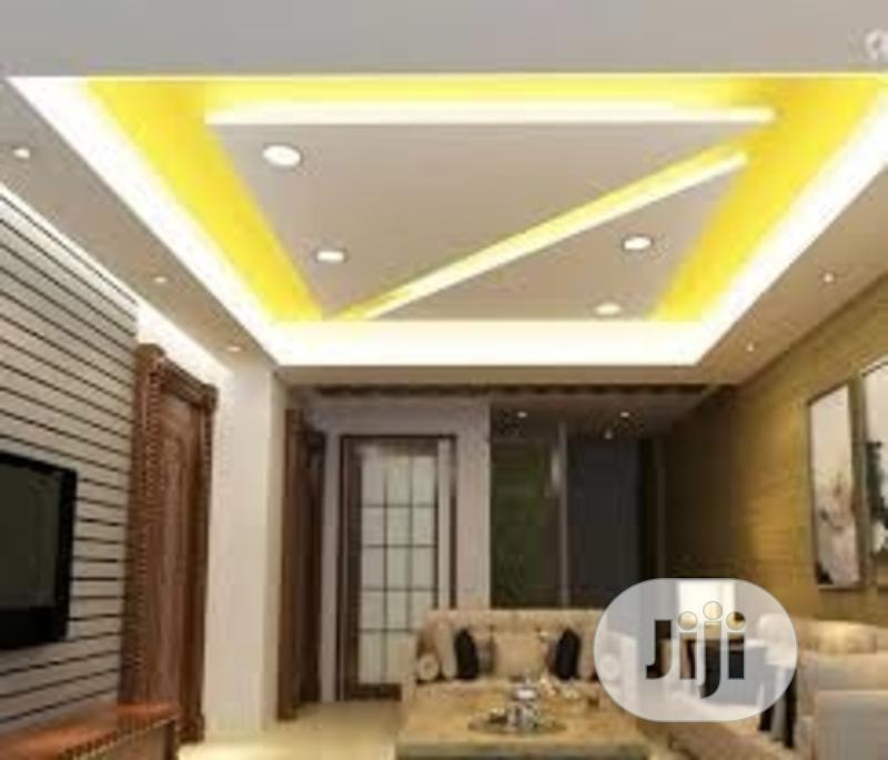 POP Ceiling Work, Suspended Ceiling, Wallpapers, Screeding | Building & Trades Services for sale in Lekki, Lagos State, Nigeria
